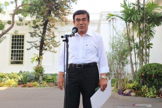 Fachrul Razi berdiskusi soal SDM dengan Presiden Jokowi