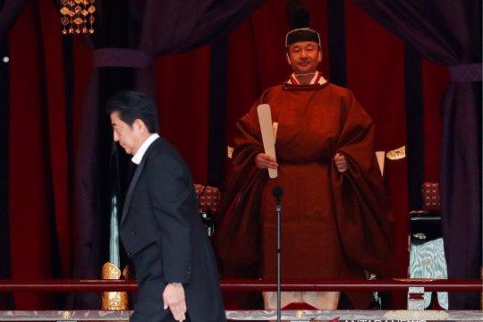 Kaisar Jepang saat dinobatkan bersumpah jalankan kewajiban