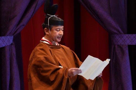 "Kaisar Naruhito ungkapkan ""penyesalan mendalam"" atas masa lalu Jepang"