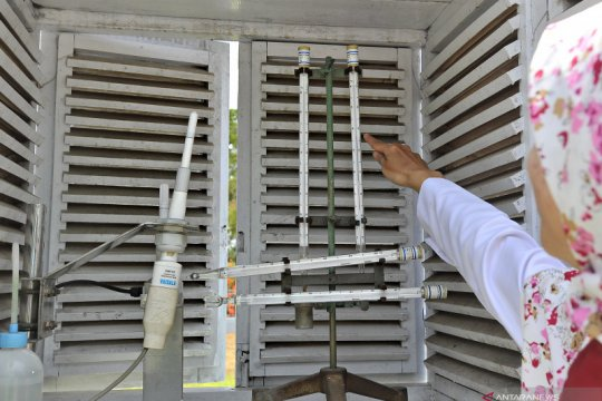 BMKG: Suhu tertinggi Kota Semarang tembus 39,4 derajat Celcius