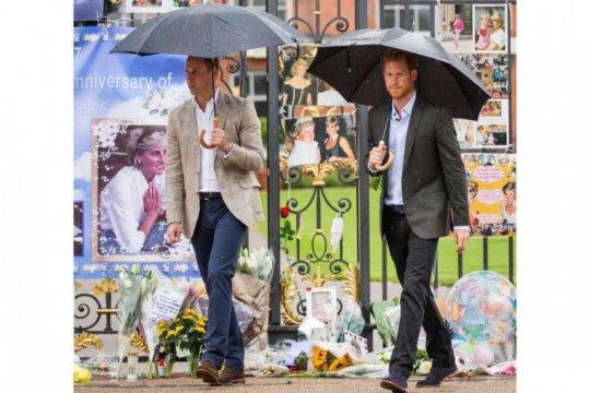 Pangeran WIlliam & Harry setuju patung Putri Diana dipasang pada 2021