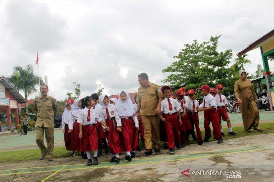 SDN 9 Sungai Raya Kalbar juara tiga nasional lomba budaya mutu