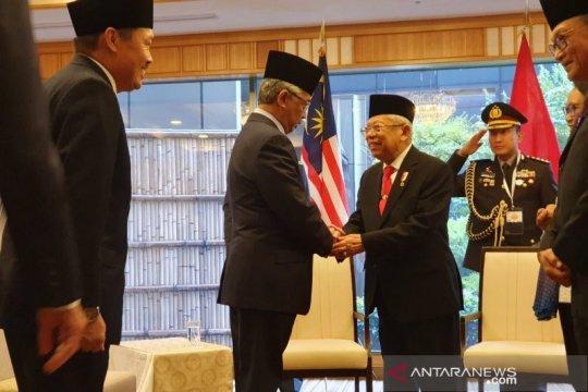 Wapres Ma'ruf dan Raja Malaysia bahas upaya perangi radikalisme