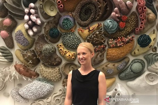 Seniman Amerika promosikan konservasi terumbu karang lewat instalasi