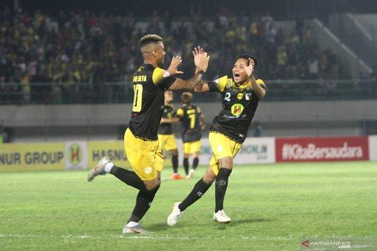 Barito Putera tumbangkan PSIS Semarang 2-0