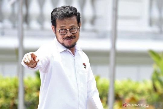 Syahrul Yasin Limpo tinggalkan Istana Kepresidenan
