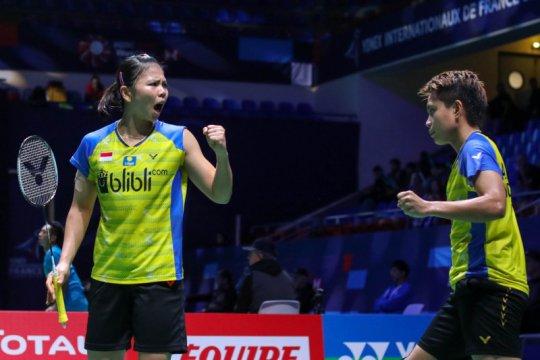 Greysia/Apriyani antisipasi Liu/Xia di babak dua French Open 2019