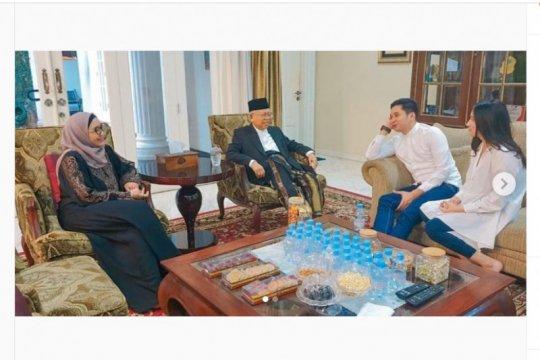 Adly Fairuz ajak calon istri bertemu wapres Ma'ruf Amin