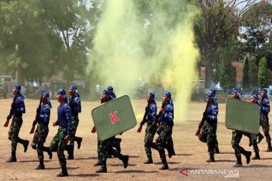 Dankodiklatau lantik 406 prajurit tamtama TNI AU