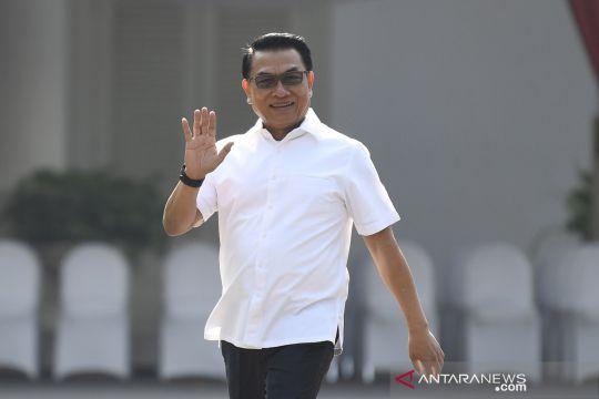 Moeldoko tiba di Istana Kepresidenan