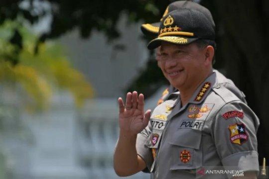 Polri siapkan calon pengganti Kapolri bila Tito jadi menteri