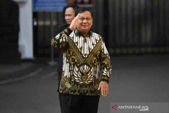 Prabowo ditunjuk jadi Menteri Pertahanan