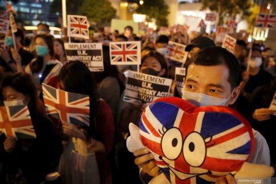 Inggris luncurkan paket selamat datang untuk warga Hong Kong