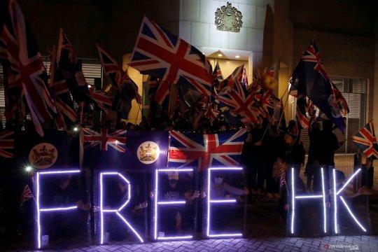 Inggris berencana tawarkan kewarganegaraan bagi warga Hong Kong