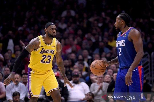 Clippers awali musim jadi tim terbaik di Los Angeles