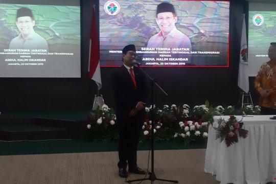 Abdul Halim akan lanjutkan program kerja Kemendes PDTT