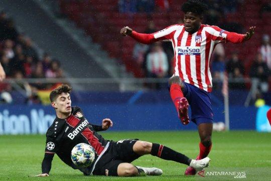 Liga Champions: babak pertama  Atletico Madrid vs Bayer Leverkusen 0-0