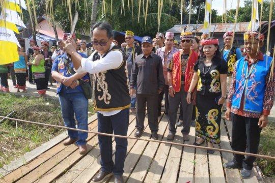 Pembukaan festival budaya Kayaan Mendalam meriah