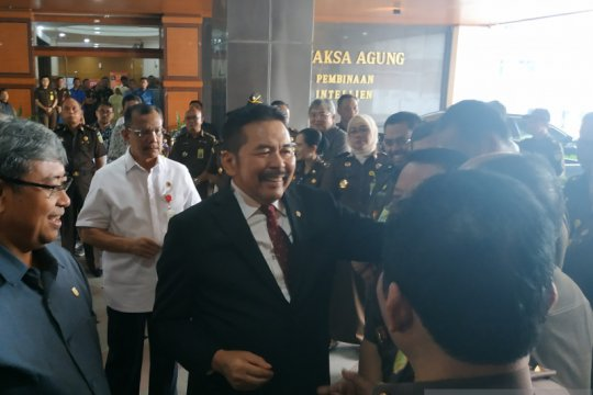 Usai pelantikan, Jaksa Agung ST Burhanuddin masuk kerja