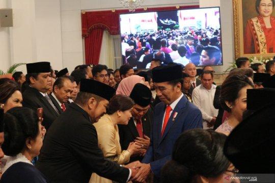 Jokowi ditinggal Projo pascapengumuman Kabinet Indonesia Maju
