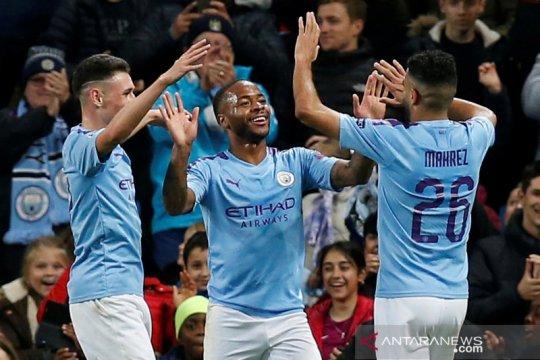Liga Champions:  Hat-trick Raheem Sterling bantu Manchester City hancurkan Atalanta 5-1