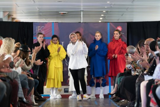 Desainer muda lulusan SMK unjuk karya di Paris