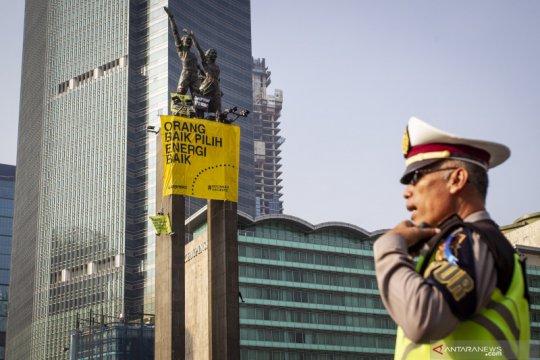 Pesan aktivis Greenpeace untuk Presiden Joko Widodo