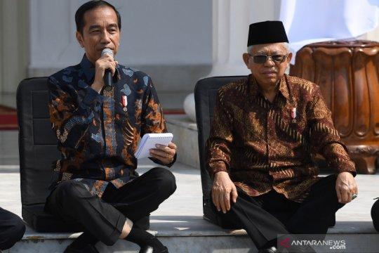 Presiden perkenalkan Kabinet Indonesia Maju