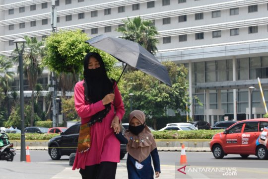 Suhu terpanas di Pulau Jawa