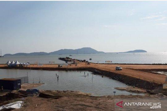 Pelabuhan Internasional Kijing siap operasional akhir 2020