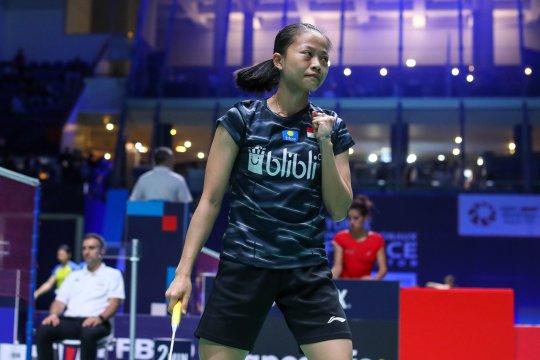 Fuzhou China Open 2019, Fitriani terhenti di babak pertama
