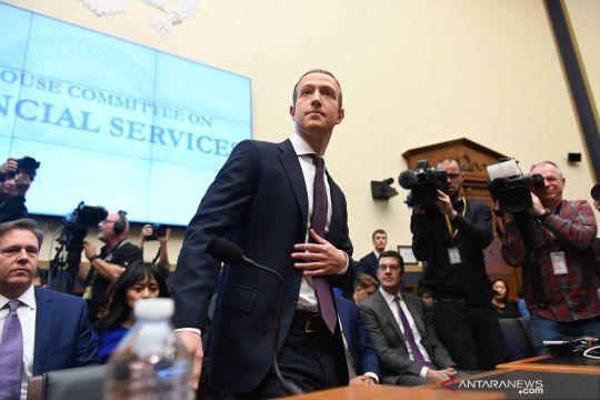 Bos Facebook berikan keterangan di hadapan anggota kongres AS