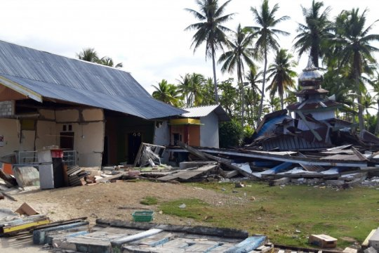 Gempa M 5,2 Halmahera Selatan juga merusak RSUD dan rusunawa