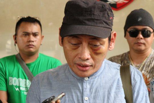 DPO kasus penganiayaan Ninoy Karundeng menyerahkan diri ke Polda Metro