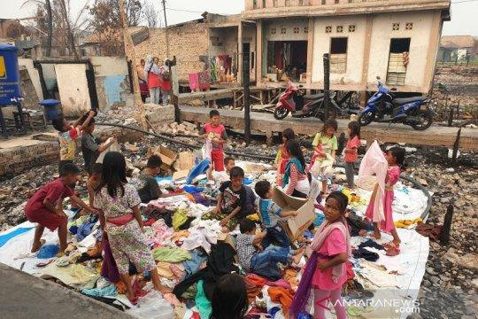Ratusan korban kebakaran di Palembang butuh kompor