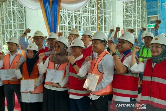PUPR gelar percepatan sertifikasi bagi 11.250 tenaga kerja konstruksi