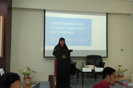 Komisioner AICHR: perdamaian urusan inti dari ASEAN
