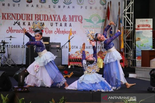 Pawai 34 suku meriahkan Kenduri Budaya di Jakarta Utara