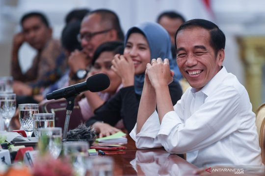 Presiden Jokowi: Kasus Novel akan saya kejar ke Kapolri baru