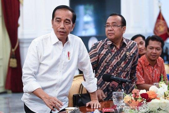 """Presiden Jokowi: Yasonna dipilih untuk selesaikan """"omnibus law"""""""