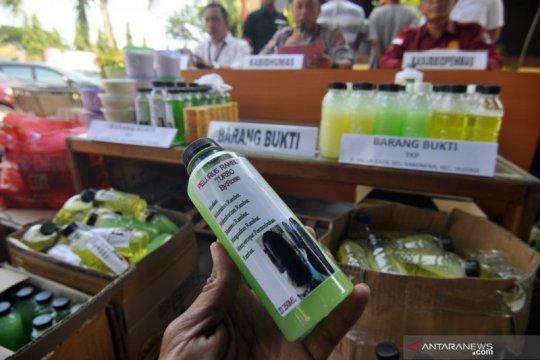 Polda Sulteng sita kosmetik ilegal