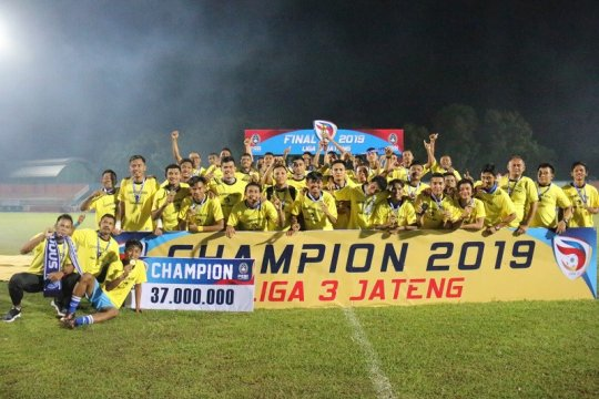 Persiku Kudus juara Liga 3 Zona Jateng
