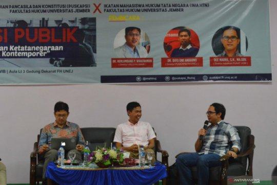 Puskapsi pertanyakan janji Jokowi bentuk Pusat Legislasi Nasional