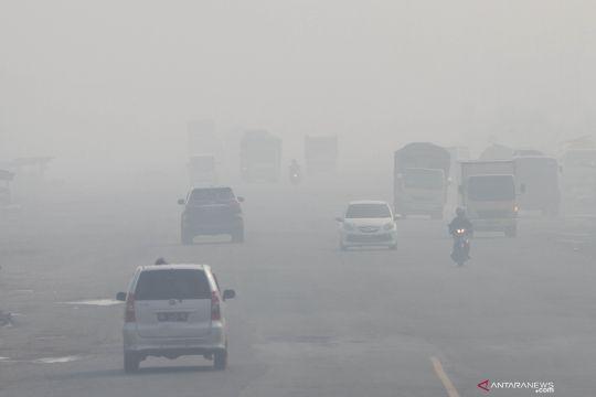 Kabut asap selimuti kabupaten Banjar