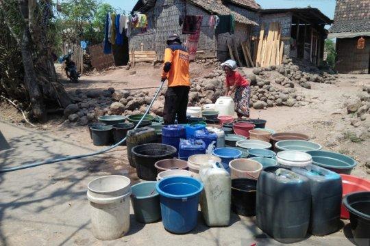 BPBD Situbondo distribusikan 690.000 liter air bersih