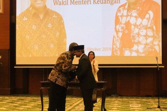 Kementerian Keuangan gelar serah terima jabatan Wamenkeu