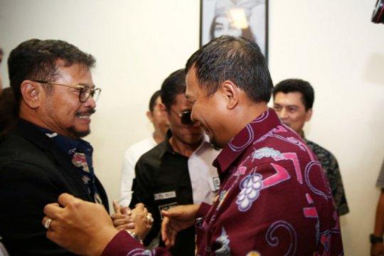 Pj Wali Kota Makassar sambut kedatangan Mentan SYL