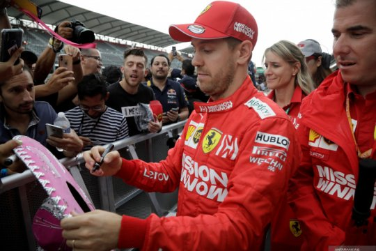 Vettel bantah rumor kontrak dengan Racing Point