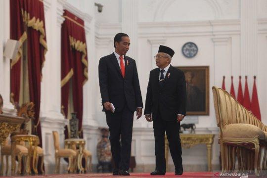 Setahun Jokowi-Ma'ruf, cepat dan sigap antisipasi COVID-19