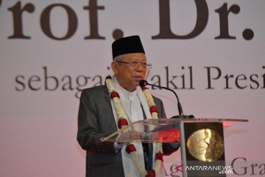 Wapres Ma'ruf: Presiden Jokowi menguji kekuatan saya